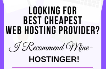 looking for best cheapest web hosting provider? i recommend mine -hostinger!